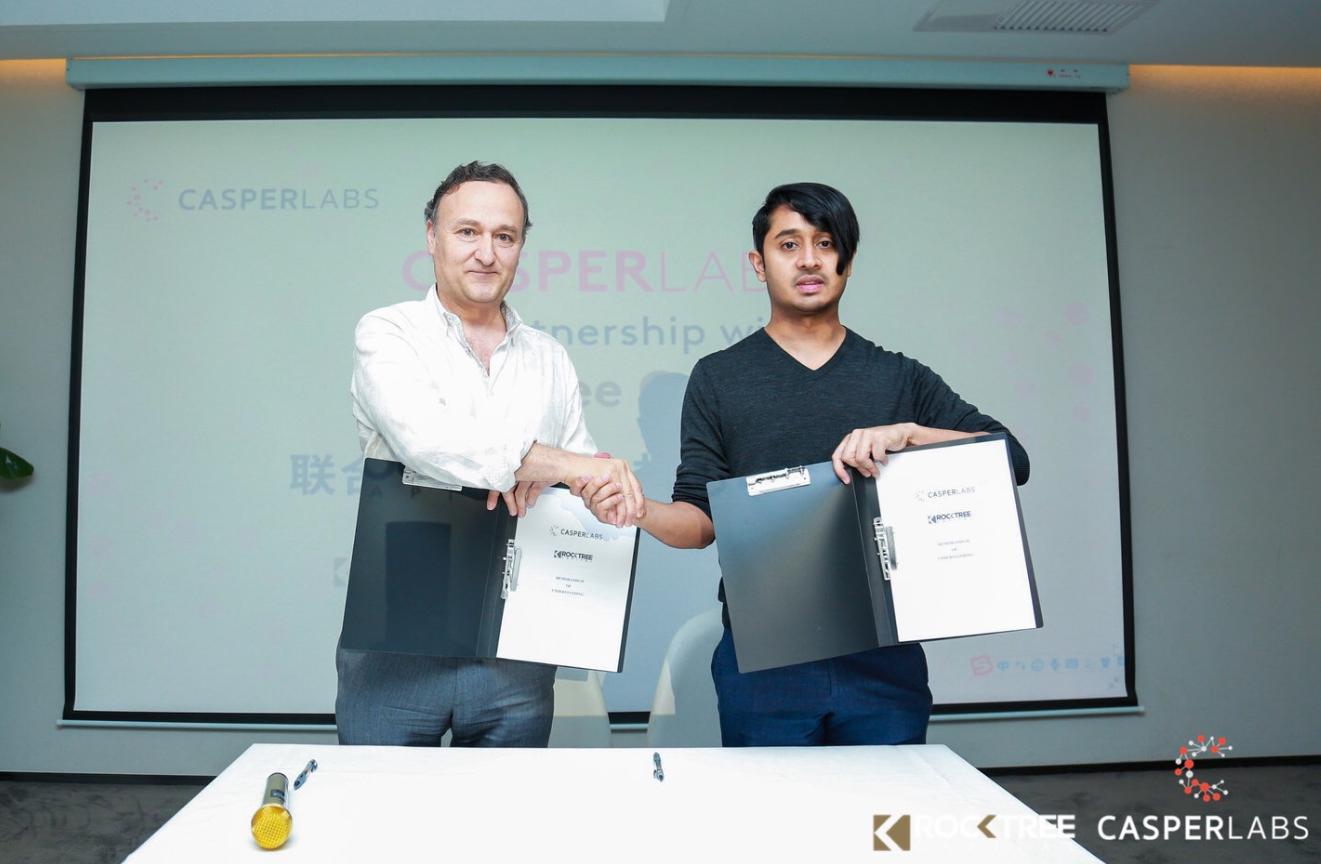 CasperLabs and RockTree Sign Strategic Partnership