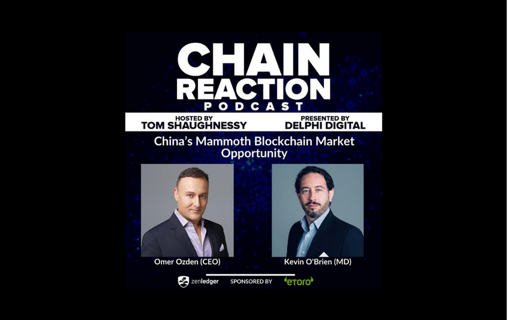 PODCAST: ROCKTREE'S OMER OZDEN AND KEVIN O'BRIEN: CHINA'S MAMMOTH BLOCKCHAIN MARKET OPPORTUNITY